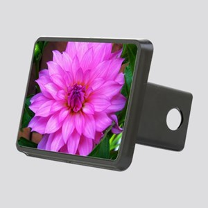 Pink Purple Dahlia Flower Hitch Cover
