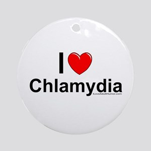 Chlamydia Ornament (Round)
