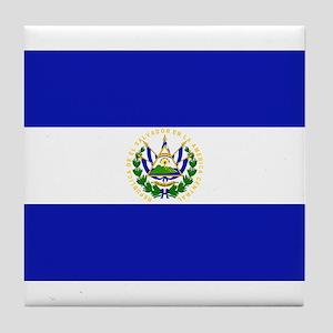 El Salvador Tile Coaster