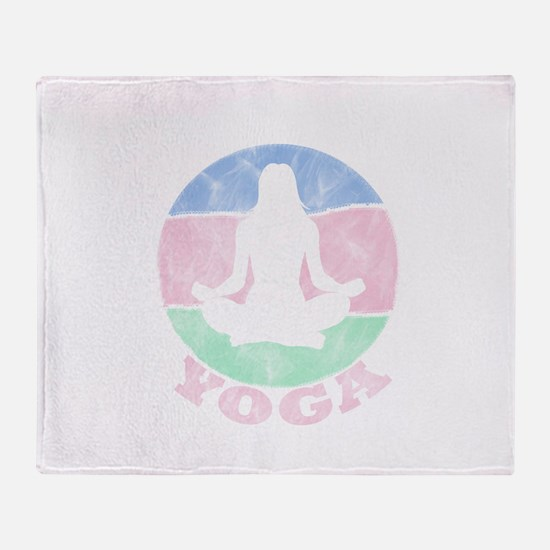 YOGA Throw Blanket