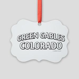 Green Gables Colorado Ornament