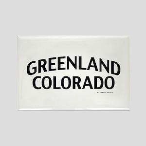 Greenland Colorado Rectangle Magnet