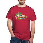 Captiva Island Dark Red T-Shirt