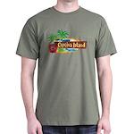 Captiva Island Military Green T-Shirt