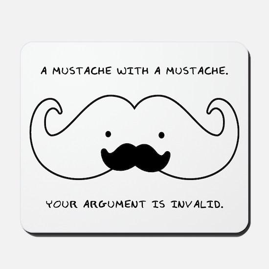 Mustache Mustache Mousepad