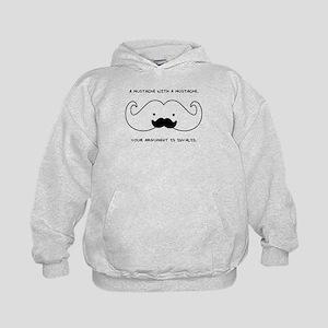Mustache Mustache Hoodie