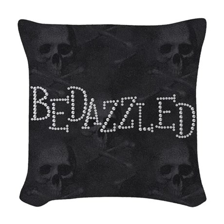 Bedazzled Woven Throw Pillow