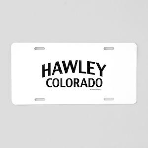 Hawley Colorado Aluminum License Plate