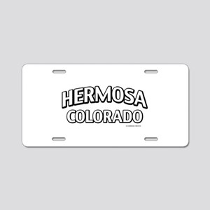 Hermosa Colorado Aluminum License Plate