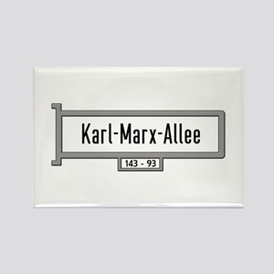 Karl-Marx-Allee, Berlin - Germany Rectangle Magnet