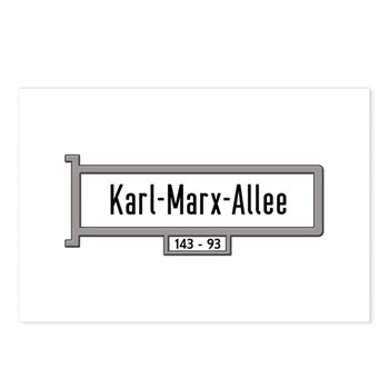 Karl-Marx-Allee, Berlin - Postcards (Package of 8)