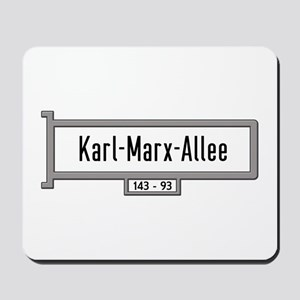 Karl-Marx-Allee, Berlin - Germany Mousepad