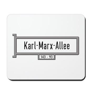 Karl-Marx-Allee, Berlin - Germany Mousepad
