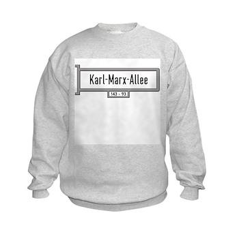 Karl-Marx-Allee, Berlin - Germany Kids Sweatshirt