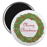 Christmas Wreath Magnet