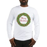 Christmas Wreath Long Sleeve T-Shirt
