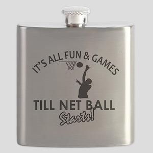 Netball designs Flask