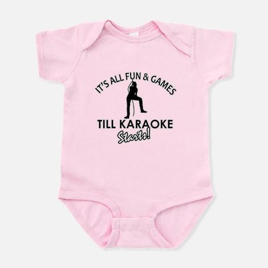 Karaoke designs Infant Bodysuit