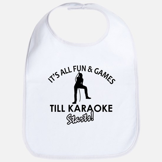 Karaoke designs Bib