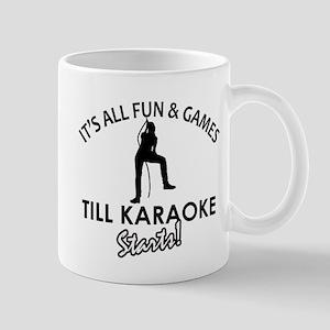 Karaoke designs Mug