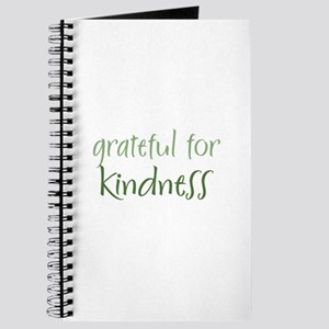 Grateful For Kindness Journal
