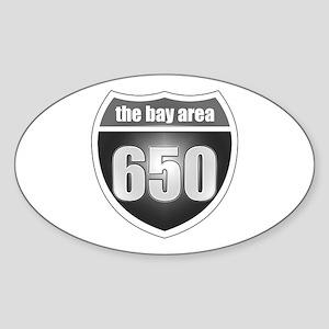 Interstate 650 Oval Sticker