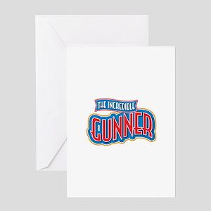 The Incredible Gunner Greeting Card
