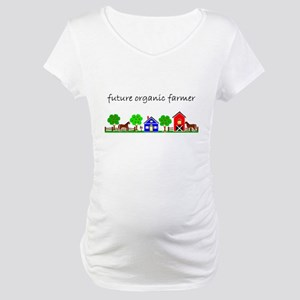 future organic farmer Maternity T-Shirt