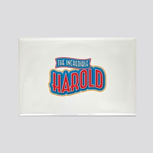 The Incredible Harold Rectangle Magnet