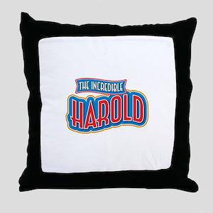 The Incredible Harold Throw Pillow