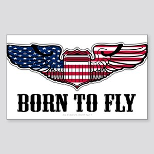 Born To Fly Version 2 Sticker