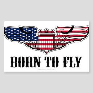 Born To Fly Version 2 Sticker