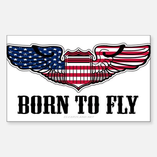 Born To Fly Version 2 Decal