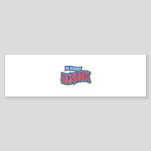 The Incredible Hendrix Bumper Sticker
