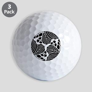 Trisected paulownias 5/3 blooms Golf Balls
