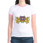 OES Lion Crest Jr. Ringer T-Shirt