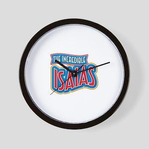 The Incredible Isaias Wall Clock