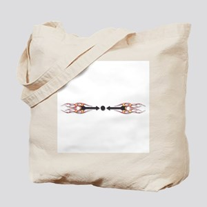 Warding off Evil (Flame) Tote Bag