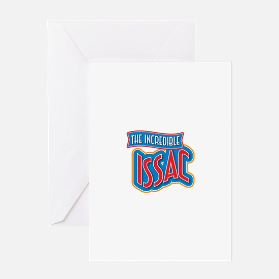 The Incredible Issac Greeting Card