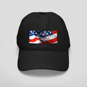 Native American Made Black Cap