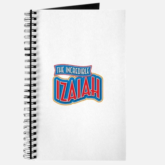 The Incredible Izaiah Journal