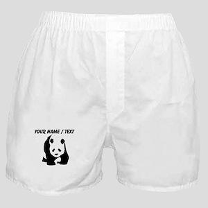 Custom Panda Bear Boxer Shorts