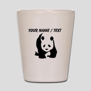 Custom Panda Bear Shot Glass