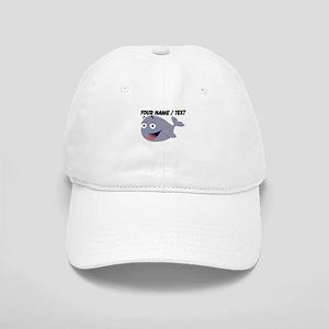Custom Funny Cartoon Whale Baseball Cap