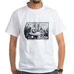 Coconuts Comics White T-Shirt: Croquet Series 7