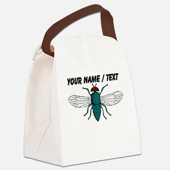 Custom Fly Canvas Lunch Bag