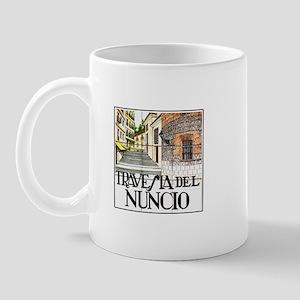 Travesía del Nuncio, Madrid - Spain Mug