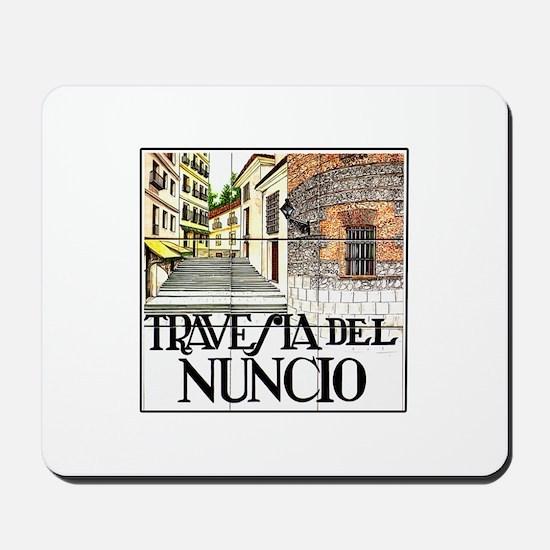 Travesía del Nuncio, Madrid - Spain Mousepad