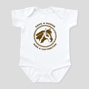 Ride A Copywriter Infant Bodysuit