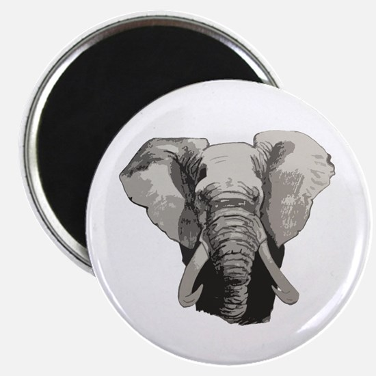 "African elephant 2.25"" Magnet (10 pack)"
